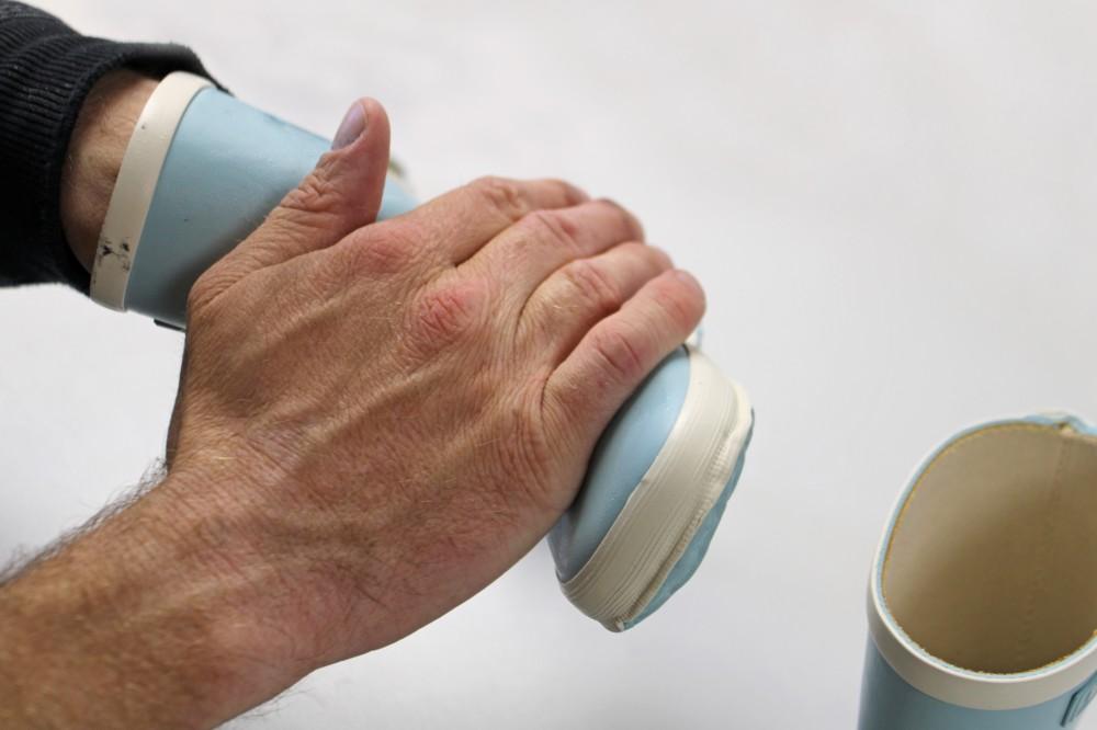 Gummistiefel mit Glycerin pflegen