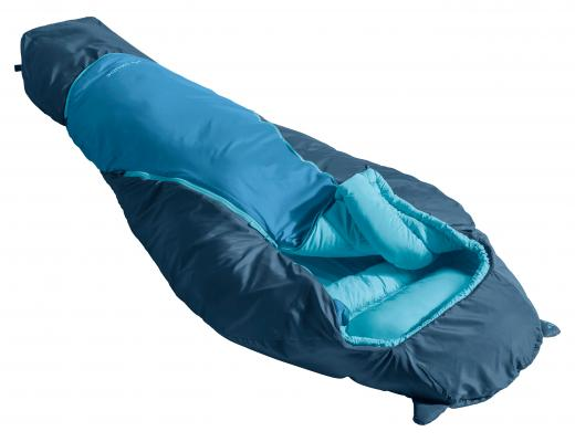 Kinderschlafsack blau
