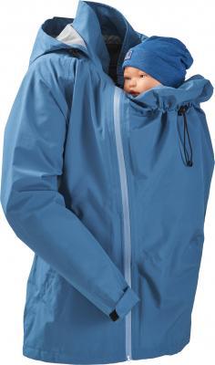 Regen - Tragejacke taubenblau