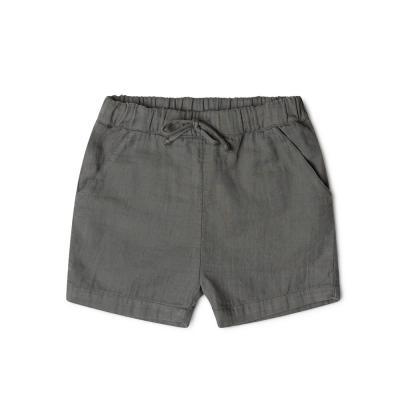 kurze Hose aus Baumwolle schieferblau