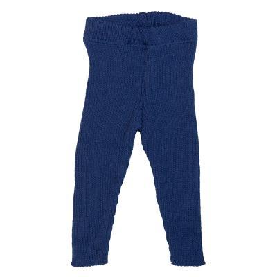 Strick-Leggings aus Wolle marine 74/80 | Gut