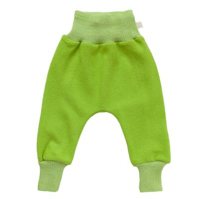 Pumphose aus leichtem Walk apfelgrün