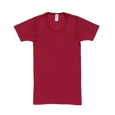 Damenhemd kurzarm W/S malve