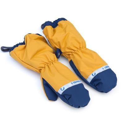 Handschuhe Pakkanen golden yellow / navy
