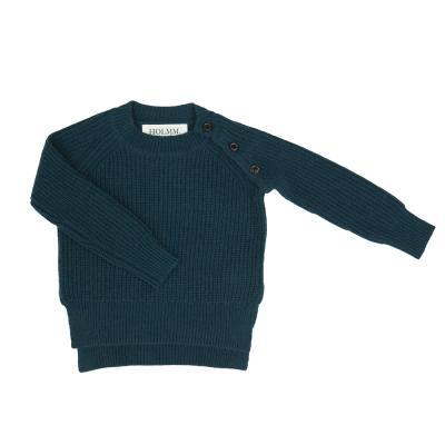 Pullover aus Wolle/Kaschmir tannengrün