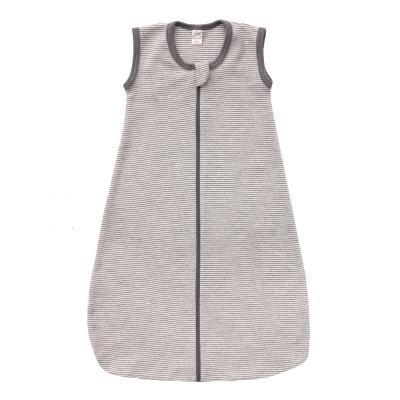 Schlafsack ohne Arm W/S hellgrau/natur