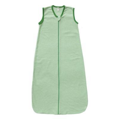 Schlafsack ohne Arm W/S hellgrün/natur