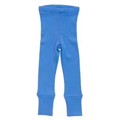 Leggings aus Wolle provence-blau