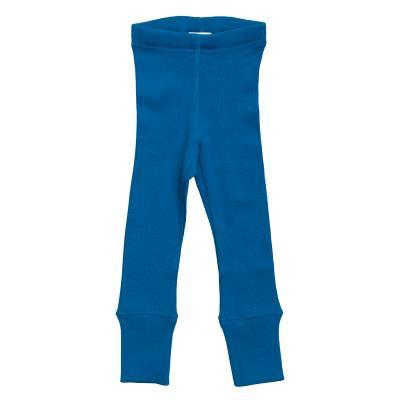 Leggings aus Wolle tiefseeblau