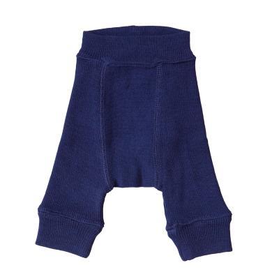 Longie aus Wolle nachtblau