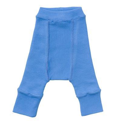 Longie aus Wolle provence-blau