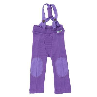Trägerhose aus Wolle lavendel