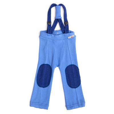 Trägerhose aus Wolle provence-blau
