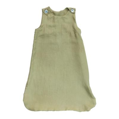 Schlafsack aus peace silk maigrün