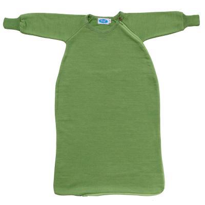 Schlafsack WS-Frottee mit Arm apfel