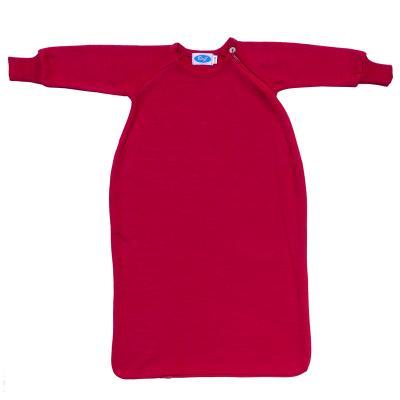 Schlafsack WS-Frottee mit Arm burgund