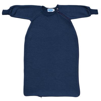 Schlafsack WS-Frottee mit Arm marine