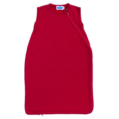 Schlafsack WS-Frottee ohne Arm burgund