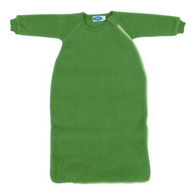 Schlafsack Wollfleece mit Arm apfel 98/104 | Neu