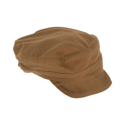 Kappe aus weichem Baumwolltwill seegras