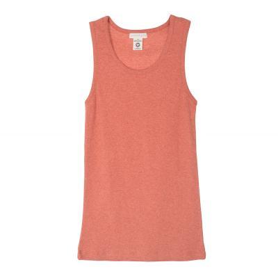 Frauenhemd aus Biobaumwolle ziegelrot