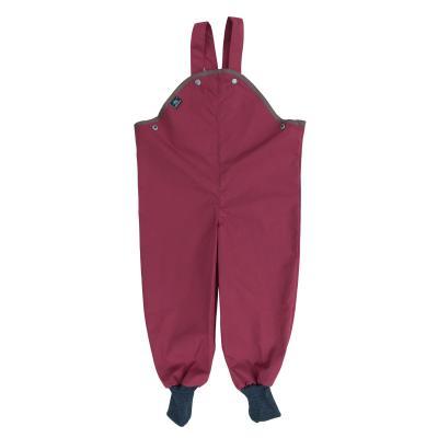 Outdoorhose mit Wollbündchen burgund