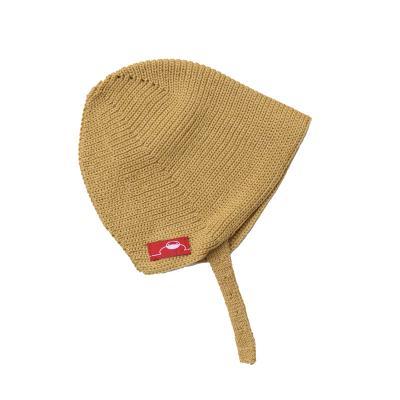 Mütze aus Wolle gold