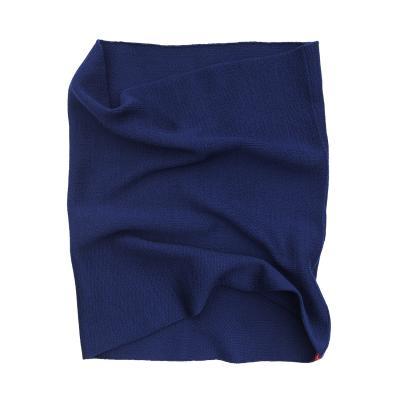 Baby-Bauch-Strickschlauch aus Wolle royalblau
