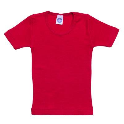 Kinderhemd WS kurzarm rot