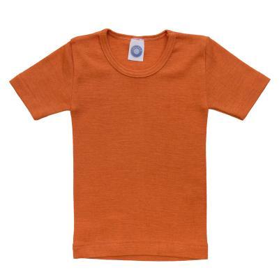 Kinderhemd W/S kurzarm safran