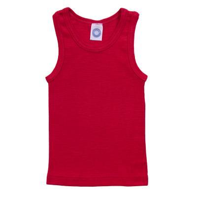 Unterhemd WS rot 128 | Neu