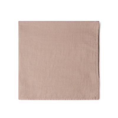 Tuch aus feiner Baumwolle rose