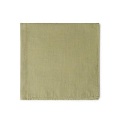 Tuch aus feiner Baumwolle salbei