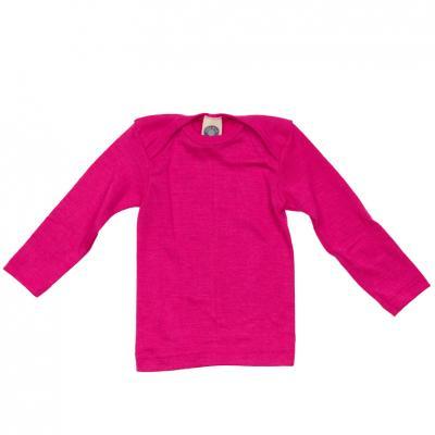 Schlupfhemd WS langarm pink