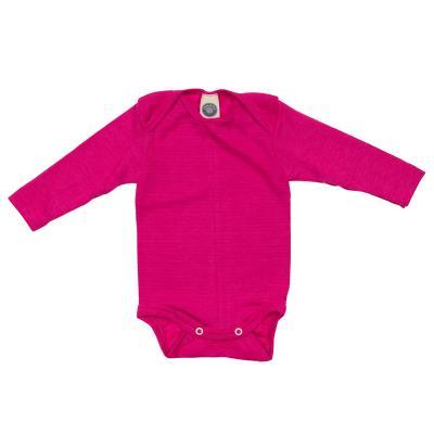 Body WS langarm pink 62/68 | Sehr Gut