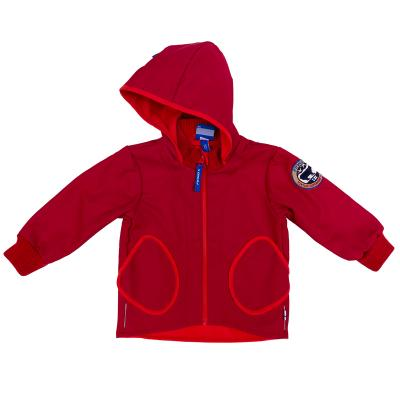 Finkid Softshelljacke Tomte Shell pepper/fire