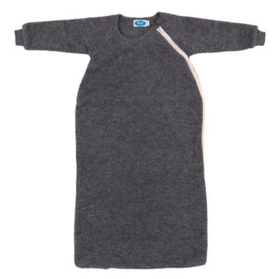 Schlafsack Wollfleece mit Arm fels 74/80 | Gut